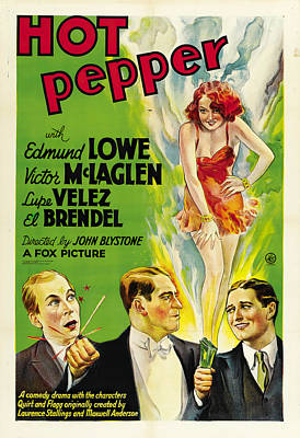 Royalty-Free and Rights-Managed Images - Hot Pepper, 1933 by Stars on Art