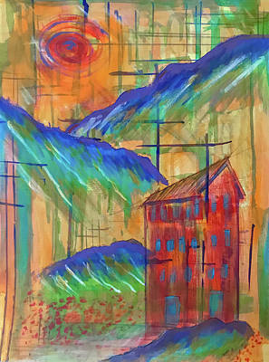 Mixed Media - House of Zen 1 by Jason Nicholas