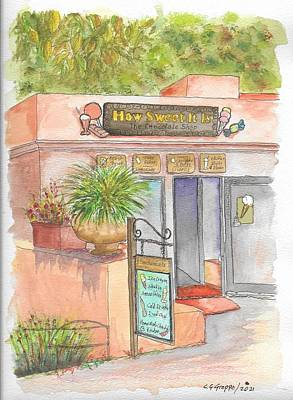 Roaring Red - How Sweet It Is in Tlaquepaque Plaza, Sedona, Arizona by Carlos G Groppa