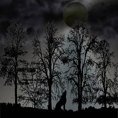 Fruits And Vegetables Still Life - Howl At The Moon by David Dehner