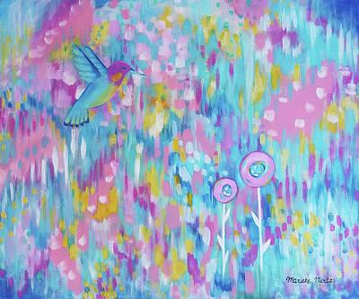Painting - Hummerville by Marieke Mertz