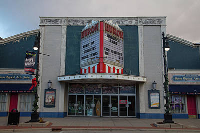 Outerspace Patenets Rights Managed Images - Huron Movie Theater in Port Huron Michigan Royalty-Free Image by Eldon McGraw