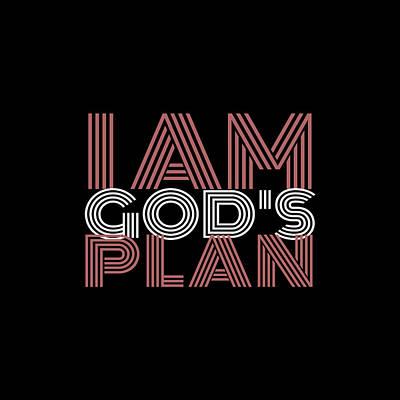 Digital Art - I Am Gods Plan by Az Jackson