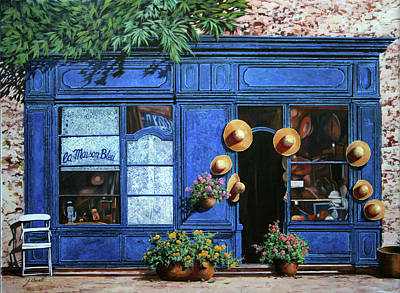 Tool Paintings - I Cappelli Gialli by Guido Borelli