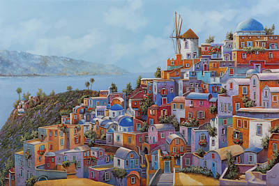Royalty-Free and Rights-Managed Images - i colori caldi della Grecia by Guido Borelli