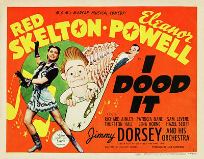 Royalty-Free and Rights-Managed Images - I Dood It, with Red Skelton and Eleanor Powell, 1943 by Stars on Art