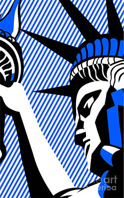 Miles Davis - I Love Liberty 1982 BlackBlue by Bobbi Freelance