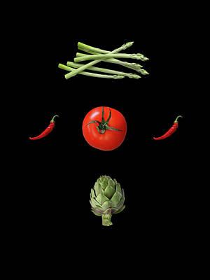 Classic Golf - I Love Vegetables by Johanna Hurmerinta
