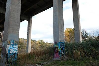 Photograph - I spent autumn under bridges X by Kreddible Trout
