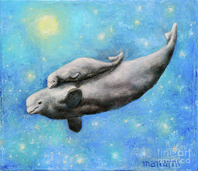 Painting - I Whale Love You Always by Manami Lingerfelt