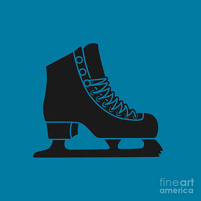 Royalty-Free and Rights-Managed Images - Ice Skate by THP Creative