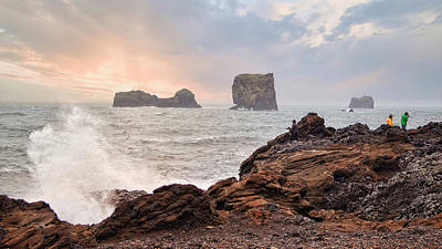Photograph - Iceland Shore by Allyson Schwartz