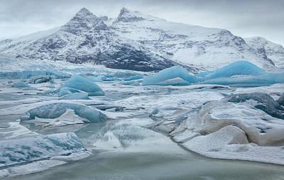 Keith Richards - Iceland Winter Scenery by Joan Carroll