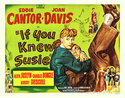 Royalty-Free and Rights-Managed Images - If You Knew Susie, with Eddie Cantor and Joan Davis, 1948 by Stars on Art