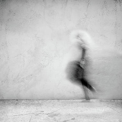 Surrealism Mixed Media - Im Not Here by Jacky Gerritsen