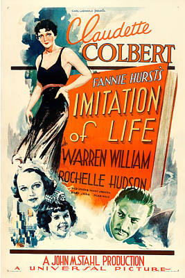 Royalty-Free and Rights-Managed Images - Imitation of Life, 1934 by Stars on Art