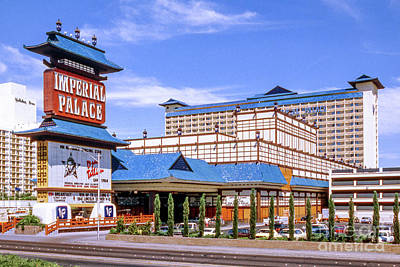 Photograph - Imperial Palace Hotel and Casino in the Afternoon 1982 by Aloha Art