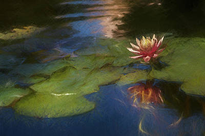 Landscape Photos Chad Dutson - Impressionable Lily by Peter Tellone