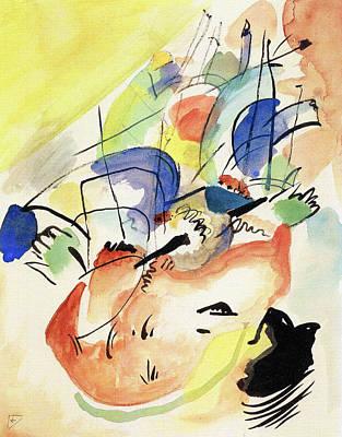 Thomas Kinkade Royalty Free Images - Improvisation 31 Royalty-Free Image by Wassily Kandinsky
