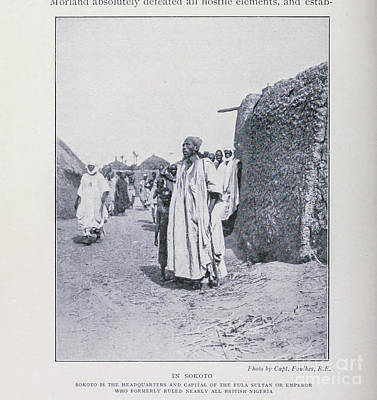 Drawings Royalty Free Images - In Sokoto i1 Royalty-Free Image by Historic illustrations