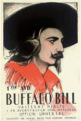 Royalty-Free and Rights-Managed Images - In the Days of Buffalo Bill, 1922 by Stars on Art
