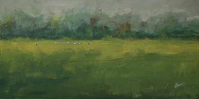 Painting - In The Distance by Terri Einer