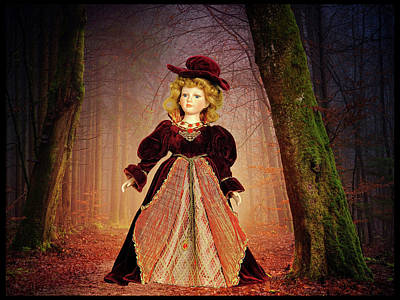 Surrealism Royalty-Free and Rights-Managed Images - In The Forest by Constance Lowery