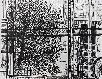 Drawing - In The Morning by Sukalya Chearanantana