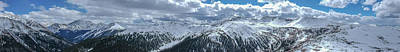 Photograph - Independence Pass, Hunter Pass, Continental Divide, Sawatch Range, Rocky Mountains, Colorado, USA by Wally Hampton