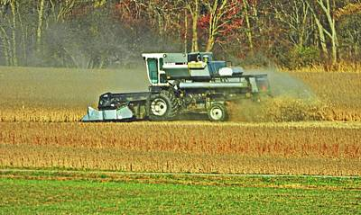 Photograph - Ohio Harvest #1 by Robert Worth Jr