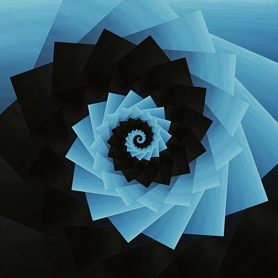 Zen Garden - Infinity Tunnel Spiral Sand by Pelo Blanco Photo