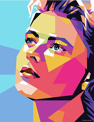 Royalty-Free and Rights-Managed Images - Ingrid Bergman by Stars on Art
