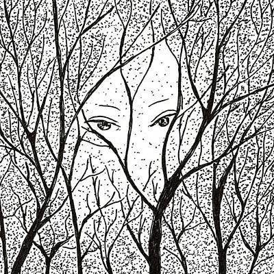 Drawing - Inktober2019 - Legend by Rachel Barlow