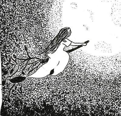 Drawing - Inktober2019 - Ride by Rachel Barlow