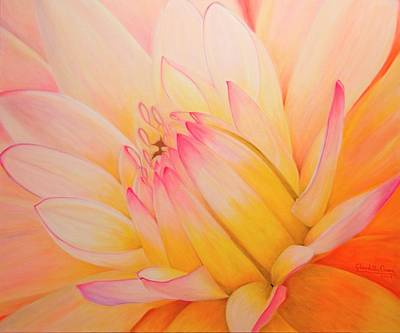 Painting - Inner Circle by Claudette Dean