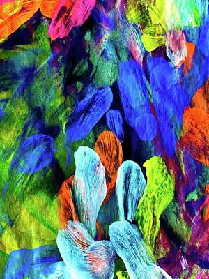 Painting - Inner Garden 3 by Steven Mana Trink