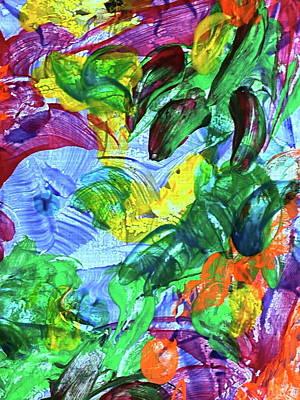 Painting - Inner Garden 5 by Steven Mana Trink
