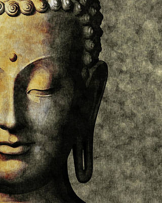Royalty-Free and Rights-Managed Images - Inner Peace 01 - Buddha by Studio Grafiikka