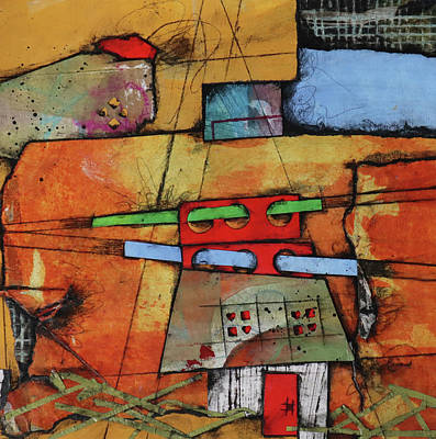 Mixed Media - Insightful Cottage  by Laura Lein-Svencner