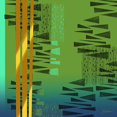 Digital Art - Interwoven by Alan Bodner