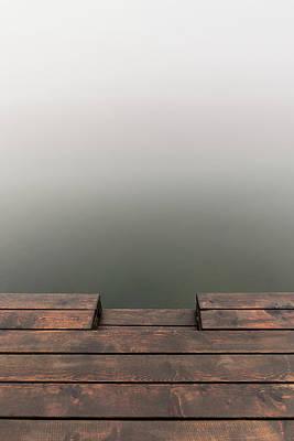 Photograph - Into the fog by Davor Zerjav
