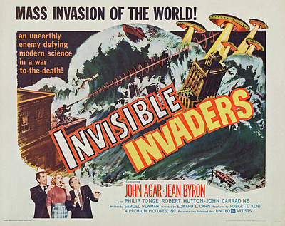 Bringing The Outdoors In - Invisible Invaders - 1959 by Stars on Art