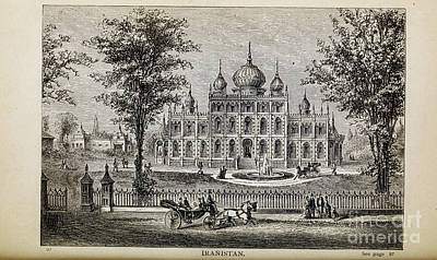Drawings Royalty Free Images - IRANISTAN i Royalty-Free Image by Historic illustrations