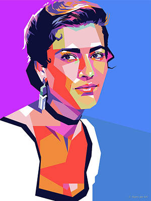 Royalty-Free and Rights-Managed Images - Irene Papas by Stars on Art