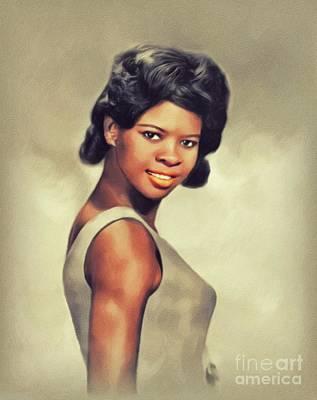 Music Paintings - Irma Thomas, Music Legend by John Springfield