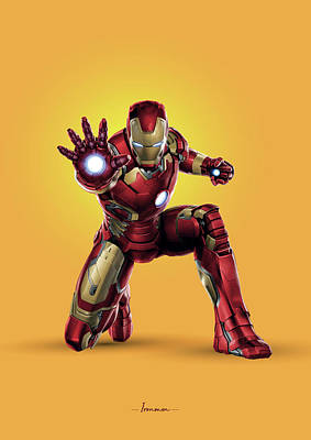 Royalty-Free and Rights-Managed Images - Ironman - Marvel by Samuel Whitton