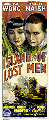 Royalty-Free and Rights-Managed Images - Island of Lost Men, 1939-b by Stars on Art