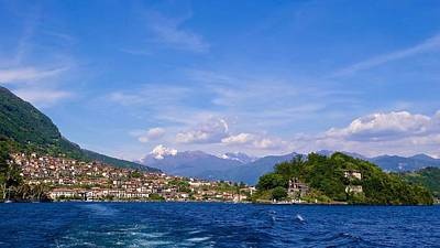 Royalty-Free and Rights-Managed Images - Isola Comacina, Lake Como, Lombardy, Italy. by Joe Vella
