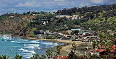 Photograph - Isolated La Jolla Shores during Covid-19  by Russ Harris