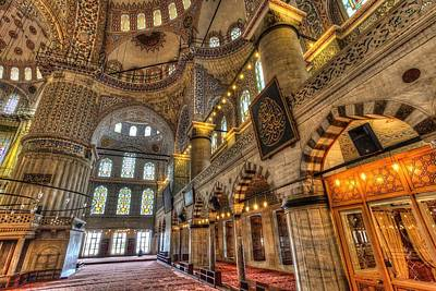 Truck Art Rights Managed Images - Istanbul Blue Mosque  Royalty-Free Image by David Pyatt